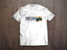 T-Shirt 1 Championnat de France de Surf 2015