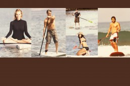 les stars pratiquent le Stand Up Paddle